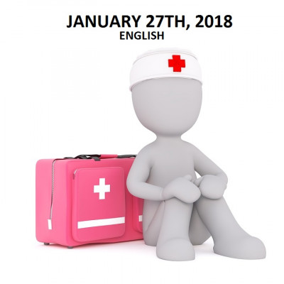 First Aid Training January 27th, 2018